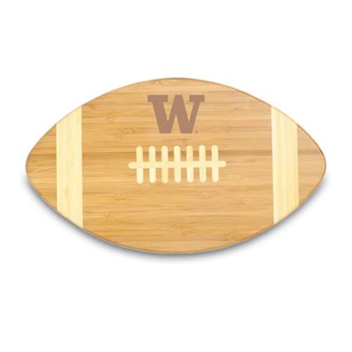 Washington Huskies Engraved Football Cutting Board