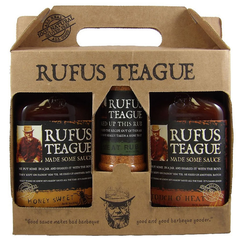 Rufus Teague Specialty BBQ Sauce Gift Set