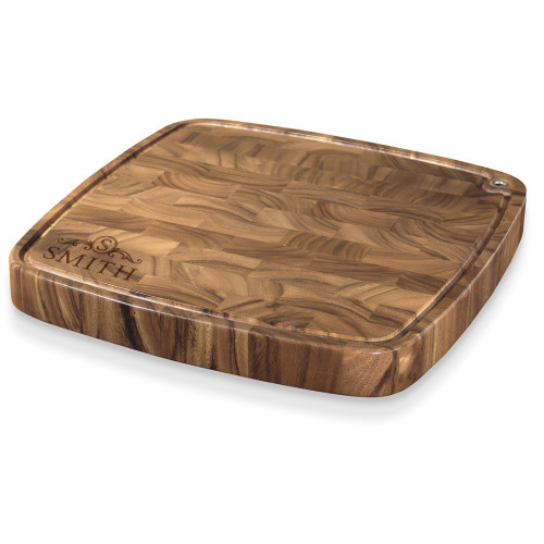 Langham Monogram Carolina Cutting Board