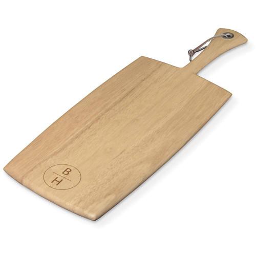 Vertical Monogram Personalized Rectangular Paddle Board