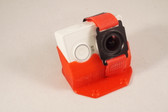 Xiaomi Yi tilted camera mount made from TPU (limited lifetime warranty) Strap and camera not included.