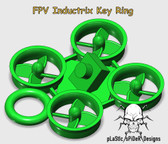 FPV Inductrix KeyRing Thing made from flexible TPU