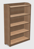Bookshelf CAD Drawing (Free Download)
