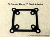 30.5mm to 20mm Flight Controller Stack Adapter -.5mm G10