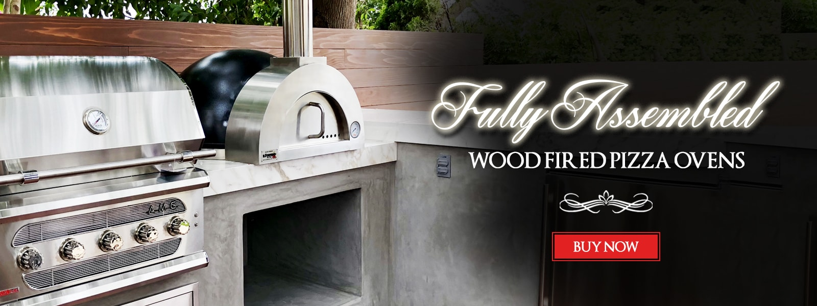 Fully Assembled Wood Fired Pizza Oven