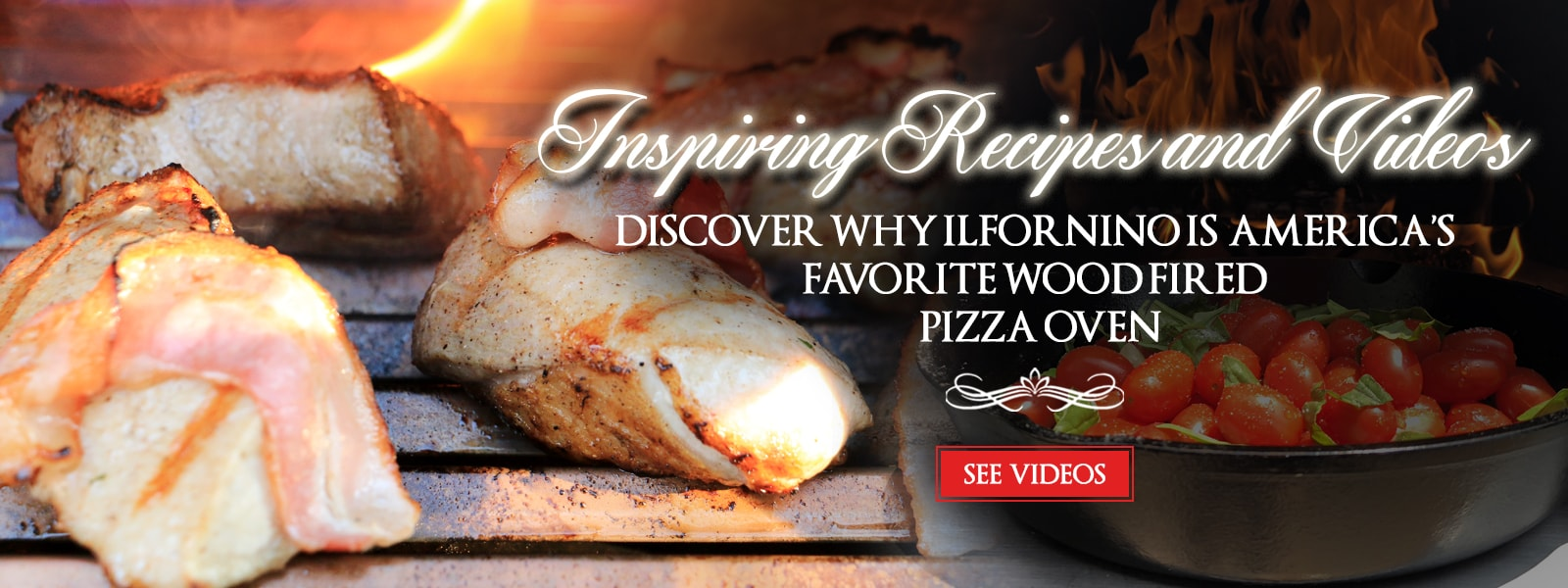 ilFornino Pizza Ovens Videos