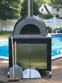ilFornino Elite Plus Series Wood Fired Pizza Oven