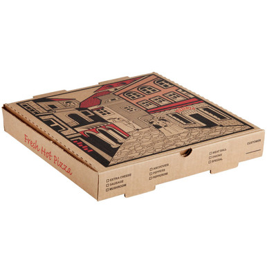 """12"""" x 12"""" Kraft Pizza Box (IFC245)"""