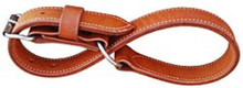 Western Natural Leather Hobble Strap By Aledo Saddlery