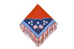 western american flag painted show barrel rodeo saddle pad