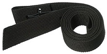 "Western Black Nylon 1.5"" Wide Reinforced Nylon Latigo Holder By Aledo Saddlery"