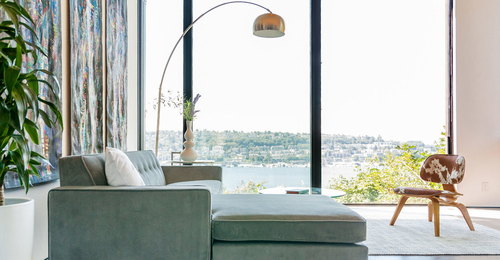 ... Arco Floor Lamp, White Marble Rectangle ...
