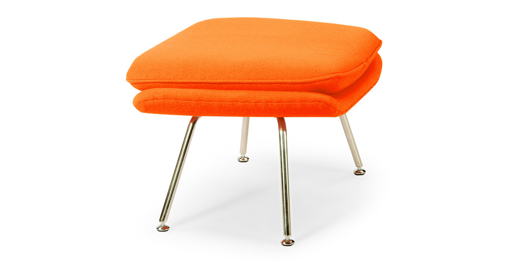 Womb Chair Amp Ottoman Orange Kardiel
