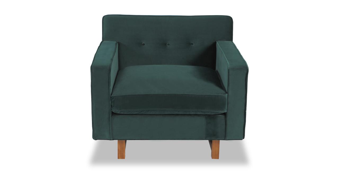 Great Kennedy Chair, Jade Plush