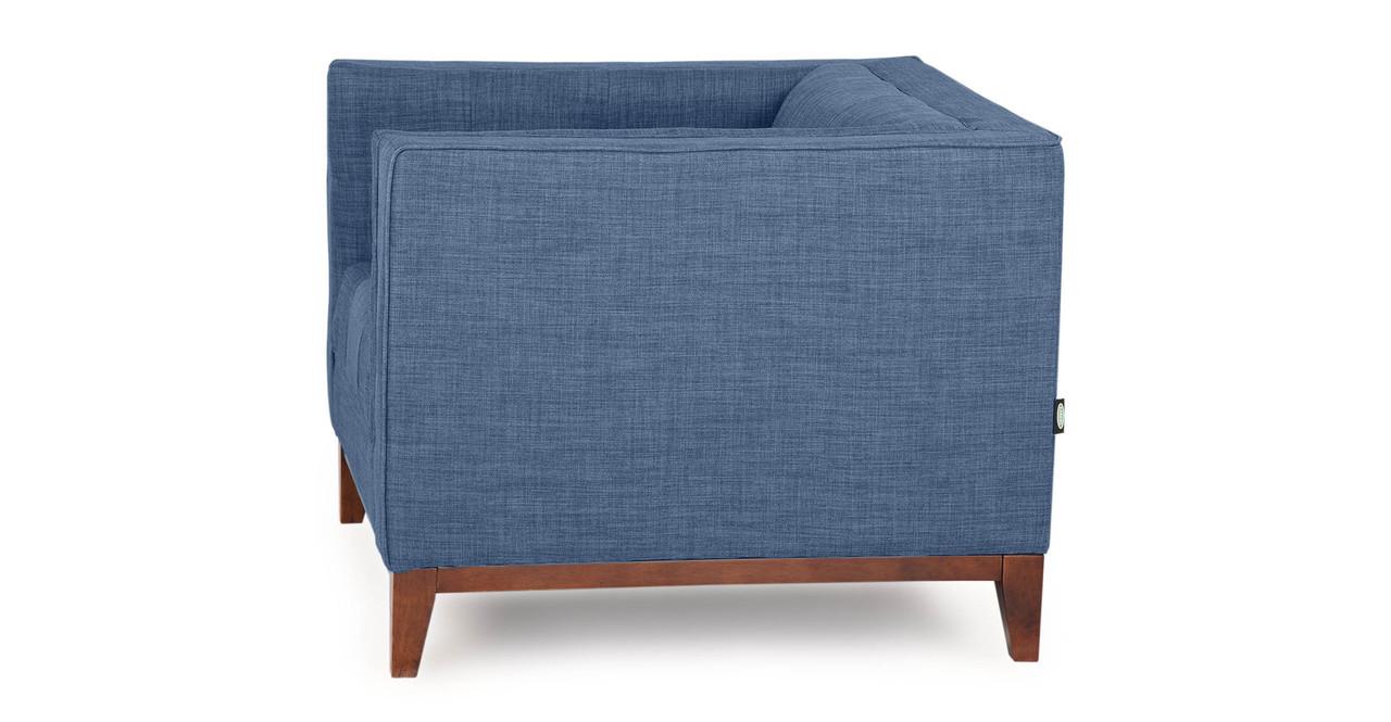 Wonderful Harrison Chair, Blue Curacao. Previous