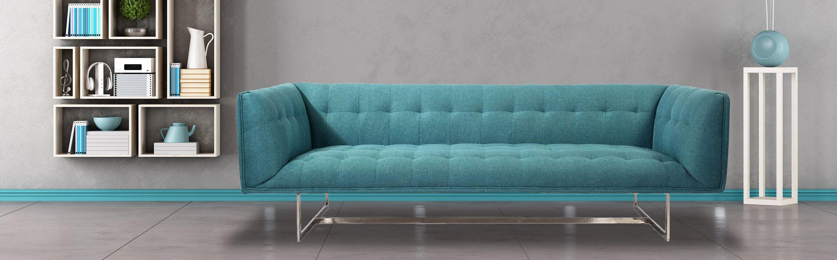 Edward Mid Century Modern Sofa