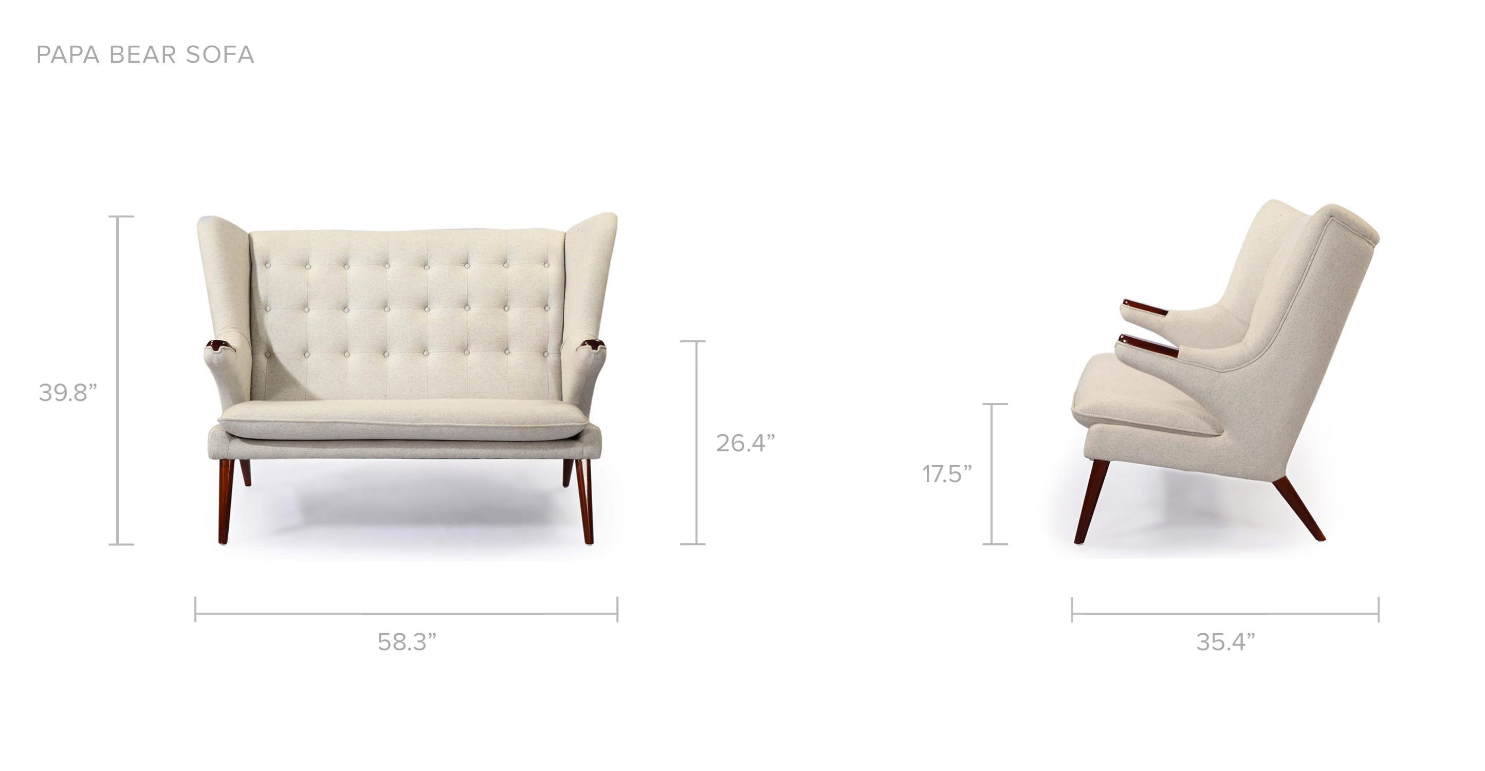 shadow loveseat elegant products love seat leg chair chesterfield loaf dixie edit