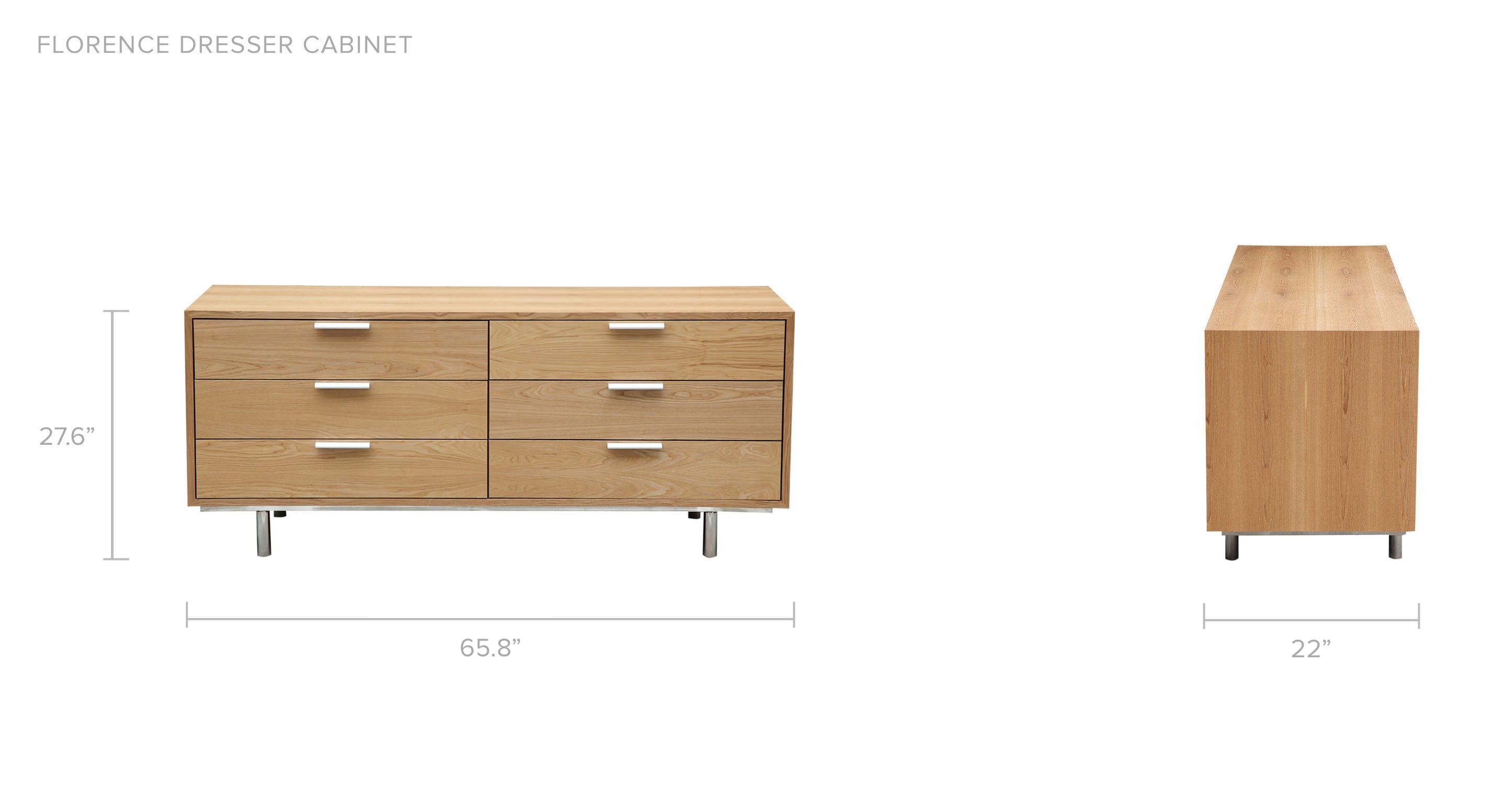 Dresser With Cabinet Florence Dresser Cabinet Ash Wood 658 Kardiel