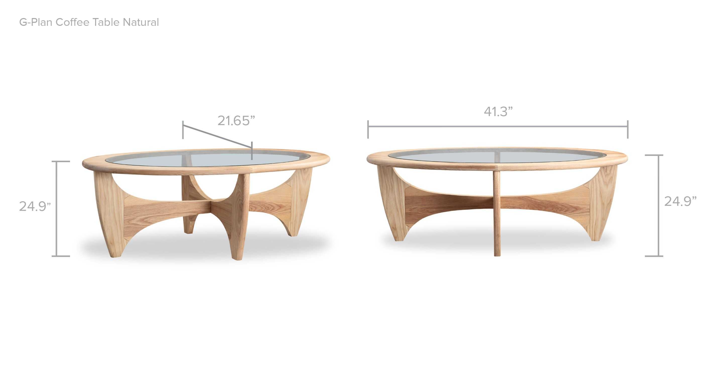 G Plan Ash Natural Coffee Table Kar l