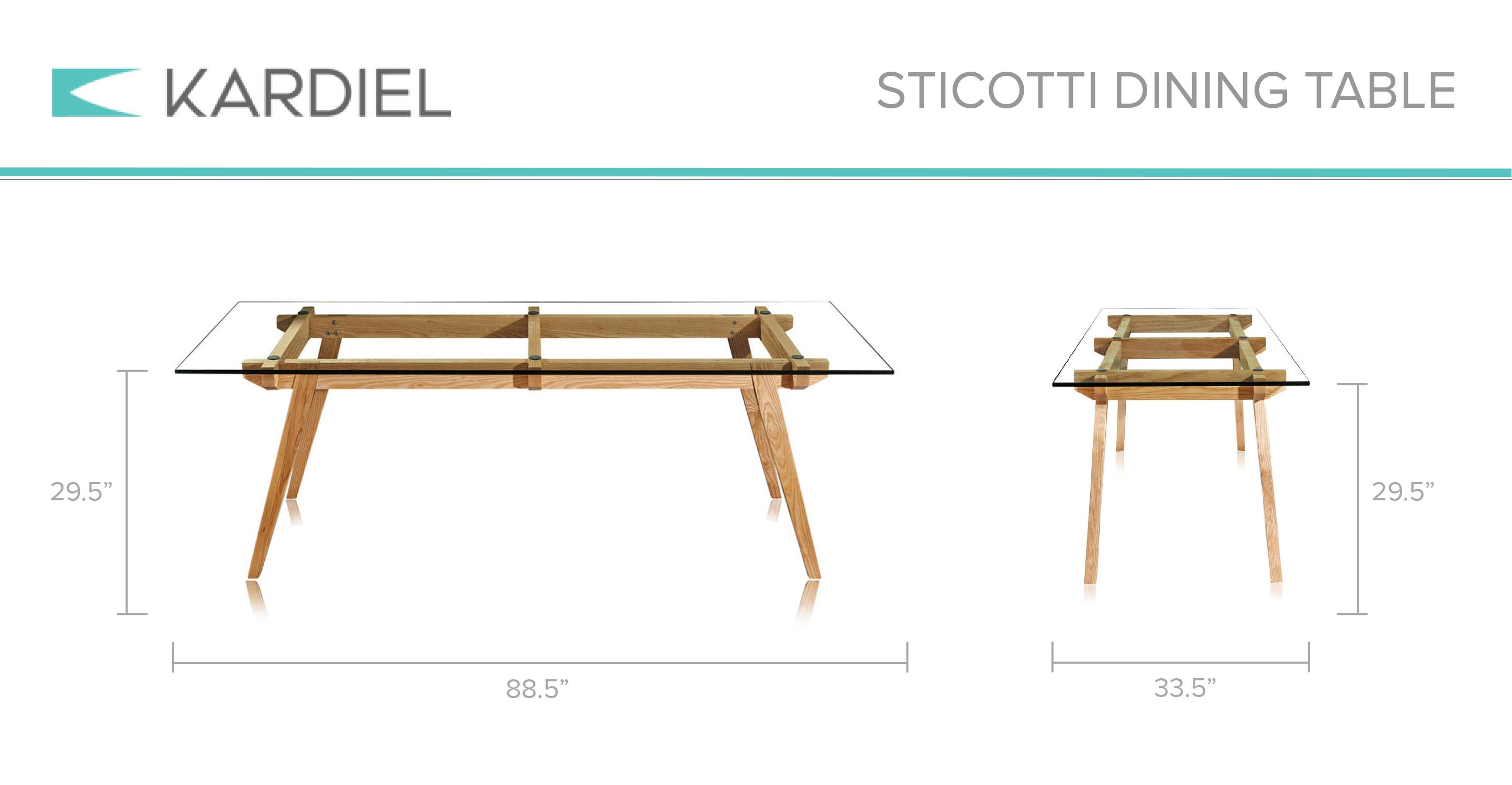 Sticotti Dining Table Ash Kar l