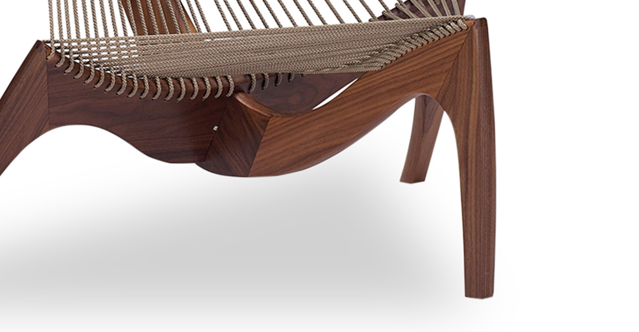 vintage harp chair