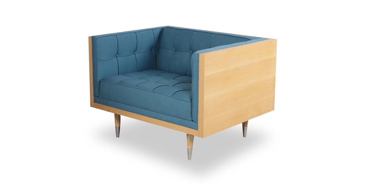 woodrow box fabric chair