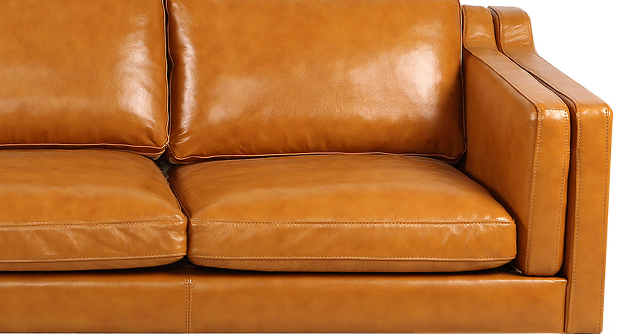 mogensen sofa leather