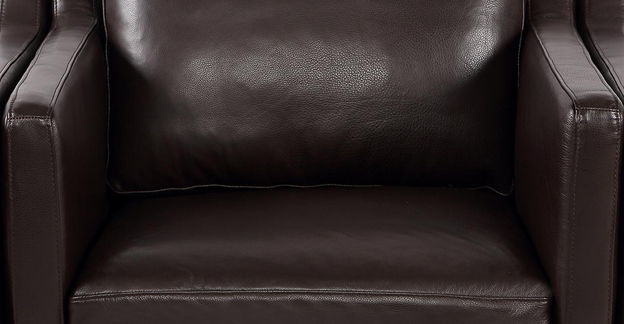 mogensen chair leather