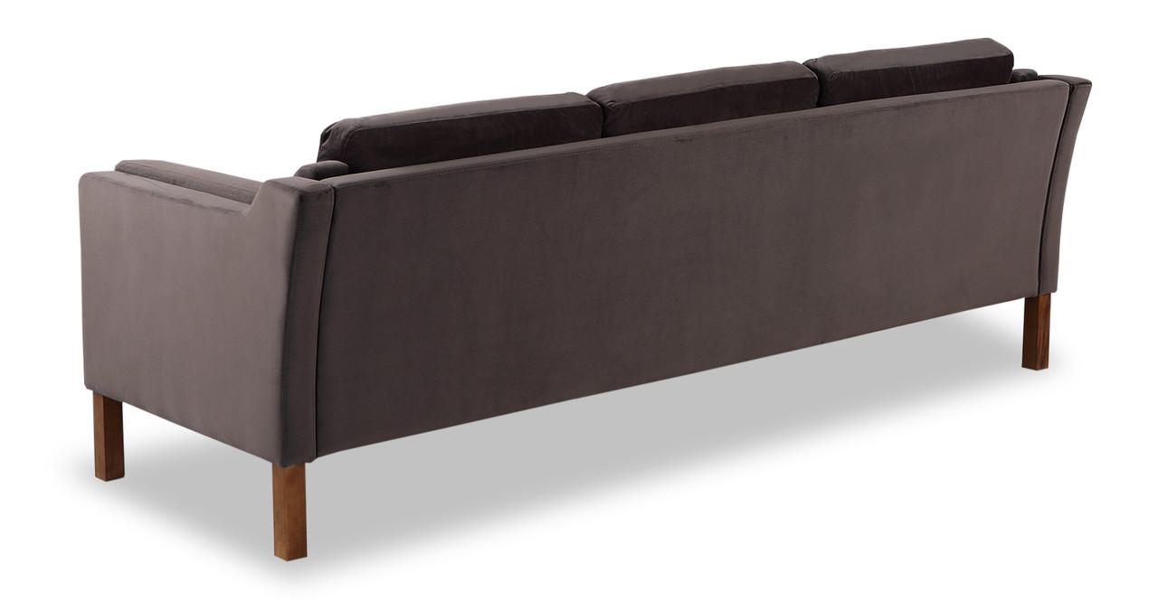 borge mogensen velvet sofa