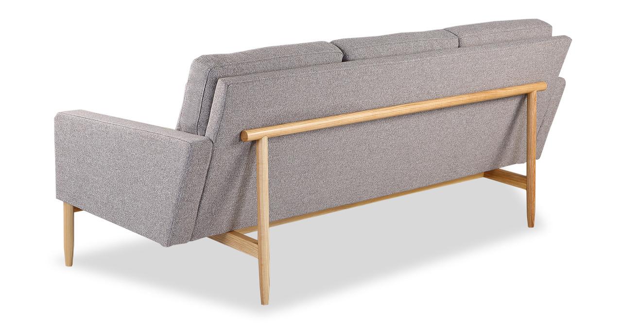 Stilt Danish Mod Sofa Urban Pebble Ash Kar l