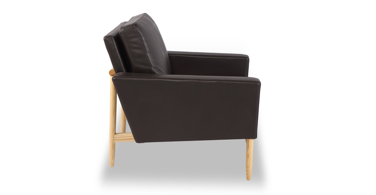 kardiel leather chair
