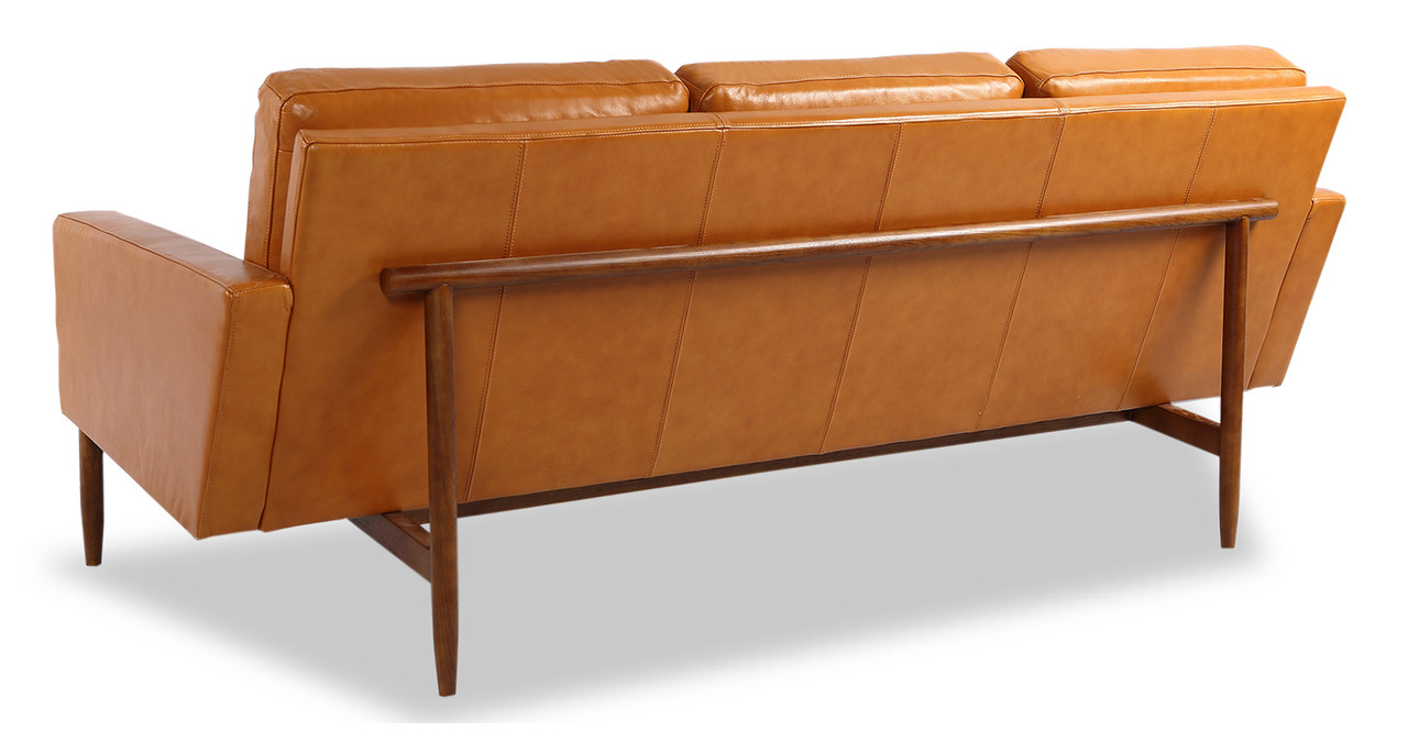 The Sofa Is Architecturally Suspended Within A Solid Wood Frame Base And  Back Frame. The Body Design Of The Platform Sofa Is Minimal And Sleek With  Clean ...