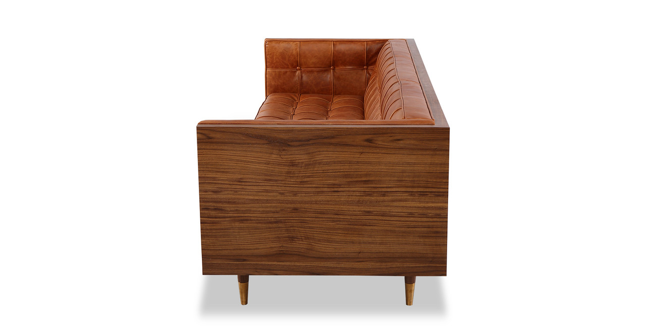 woodrow box sofa leather