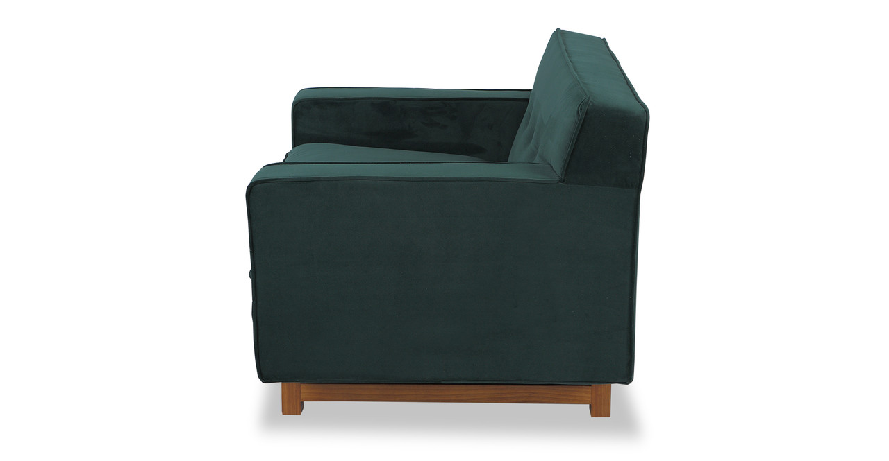 kennedy velvet chair