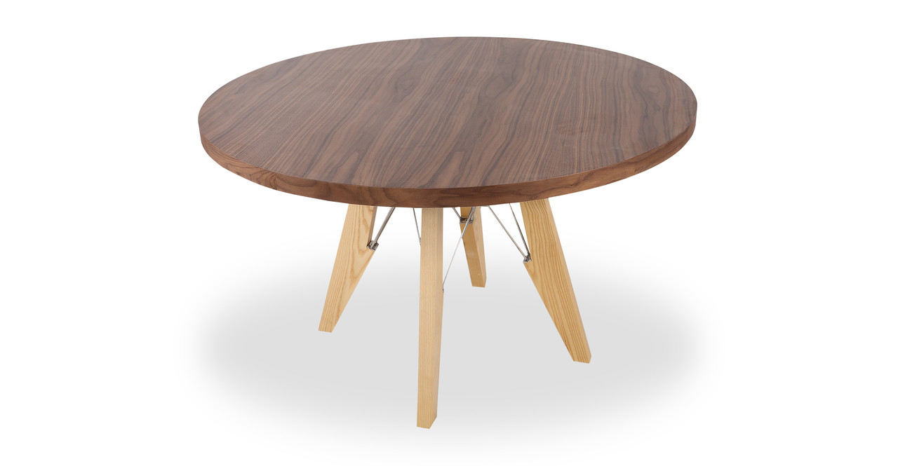 modern dining farm round table