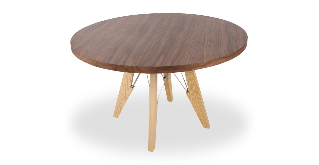 modern dining farm round table