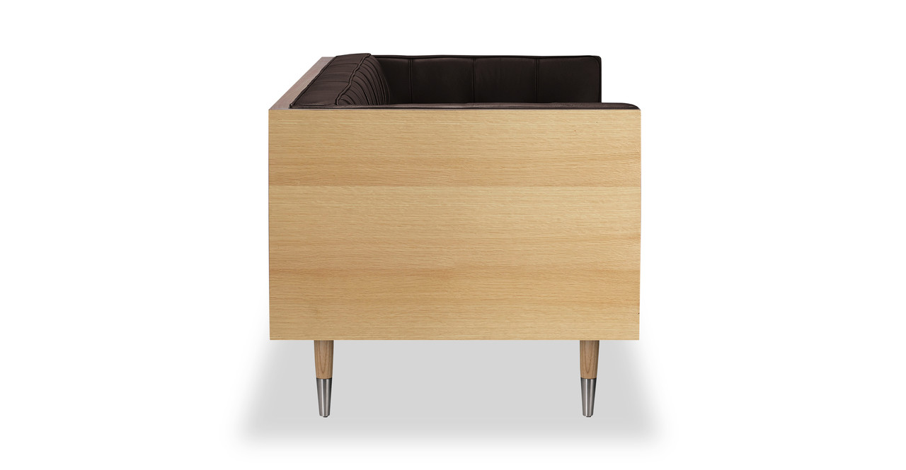 woodrow box sofa leather
