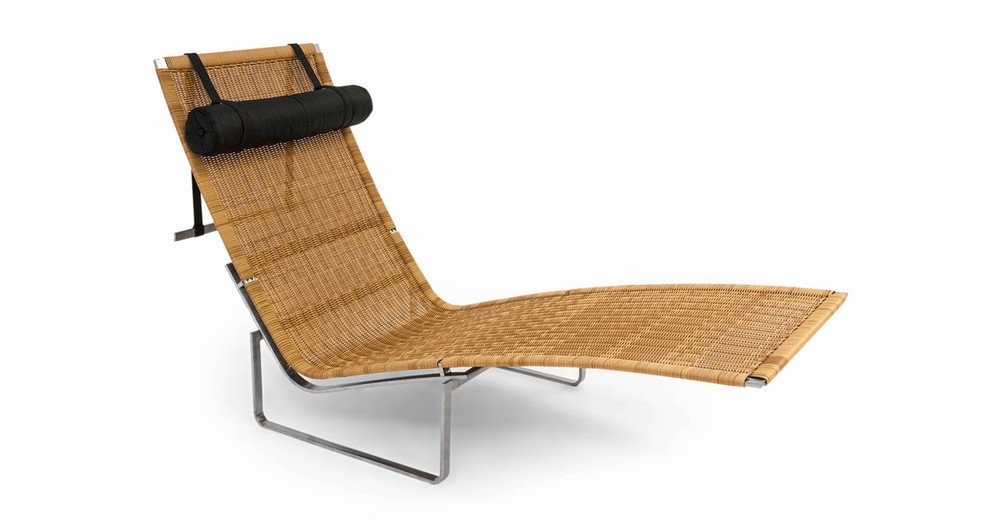 PK24 Lounge Chair Rattan Kardiel