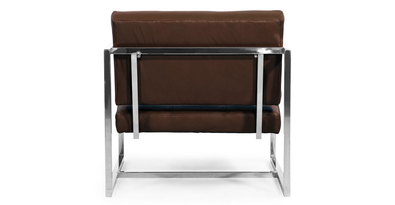cube chair leather