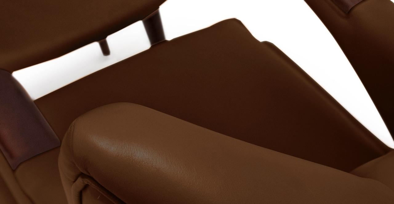 papa bear chair leather