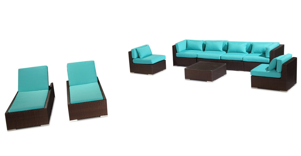 White Wicker Furniture Set Of 5 Lanai Mega Deals And Coupons