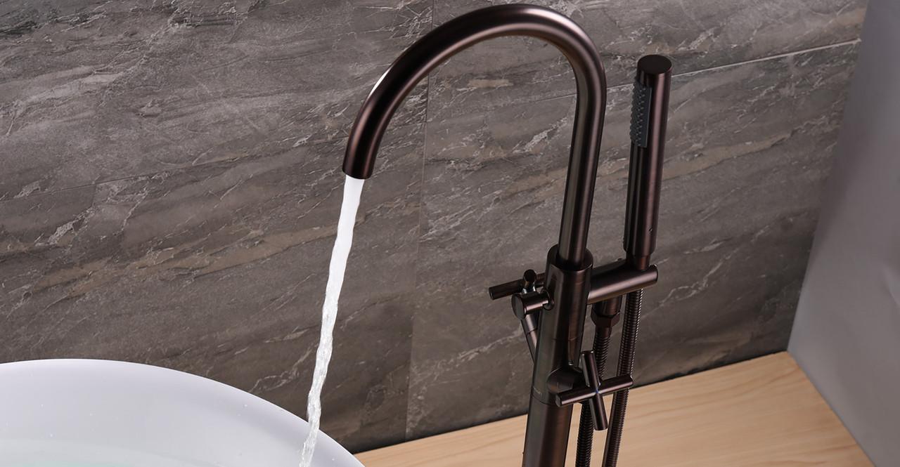 Alamere Tub Faucet, Oil Rubbed Bronze - Kardiel