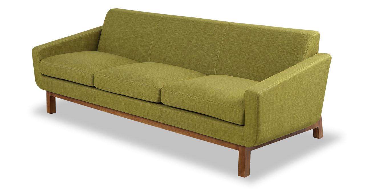 platform sofa moss