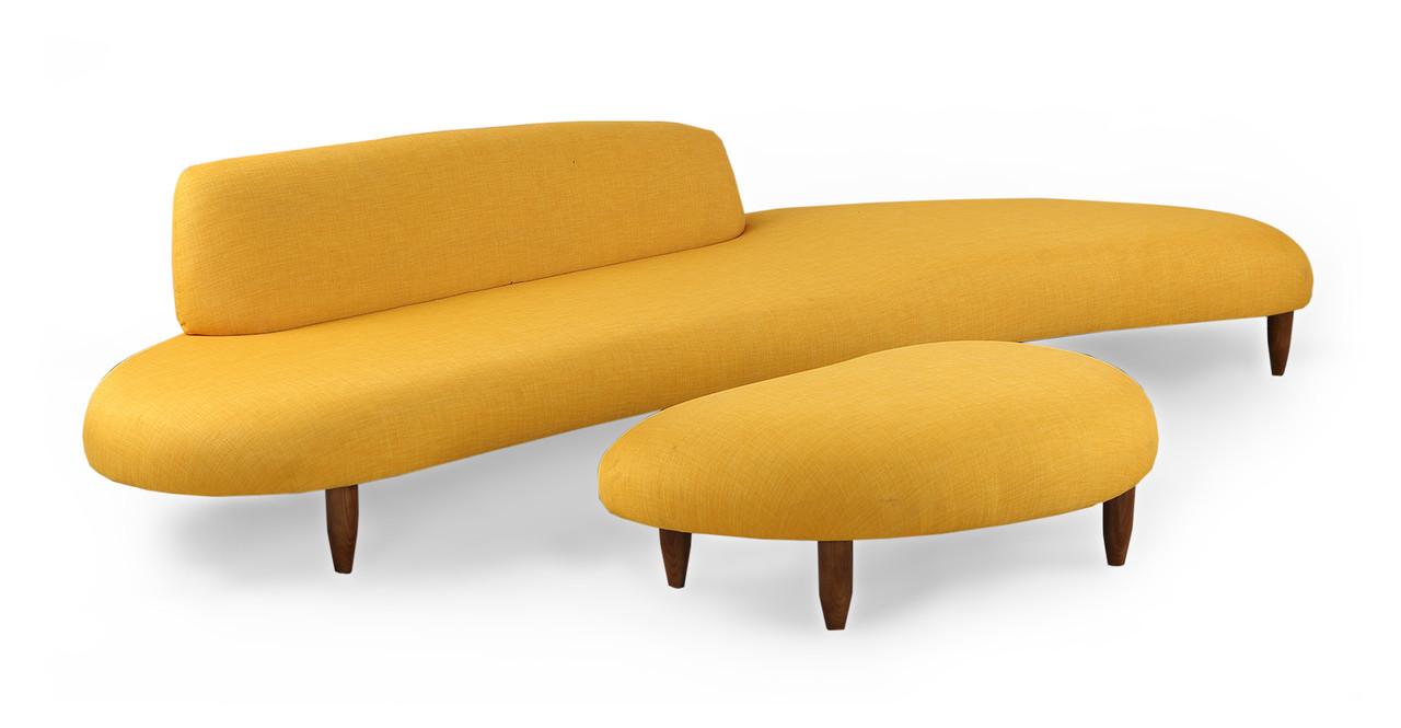 noguchi sofa and ottoman