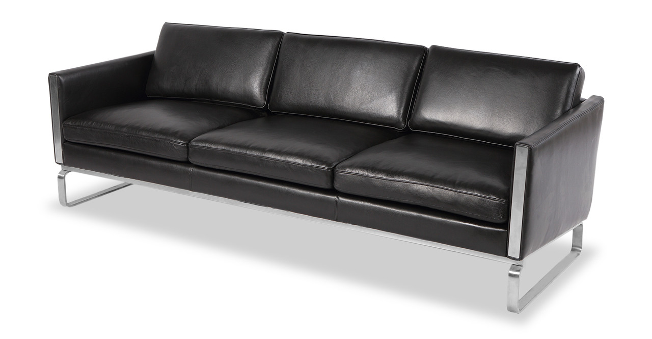 The Body Design Of The CH103 Sofa Is Minimal And Sleek With Clean Lines.  From The Side, The Wedge Designed Body Of Amsterdam CH103 Angles To Some  Degree ...