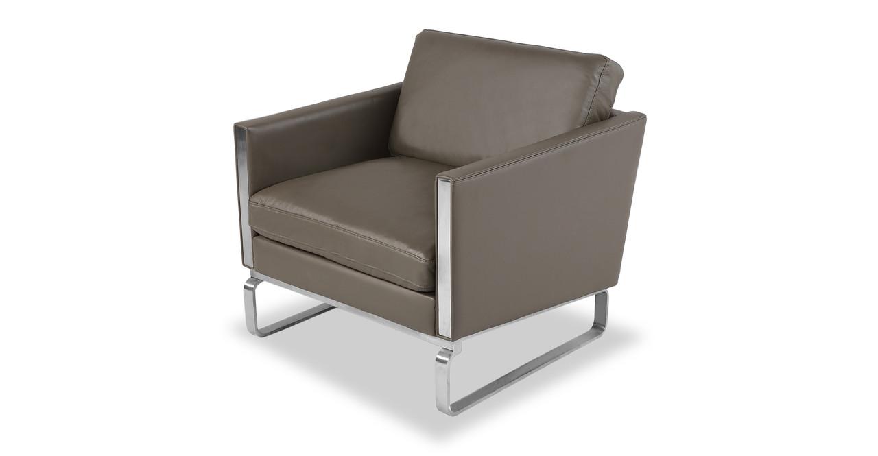 kardiel leather chair