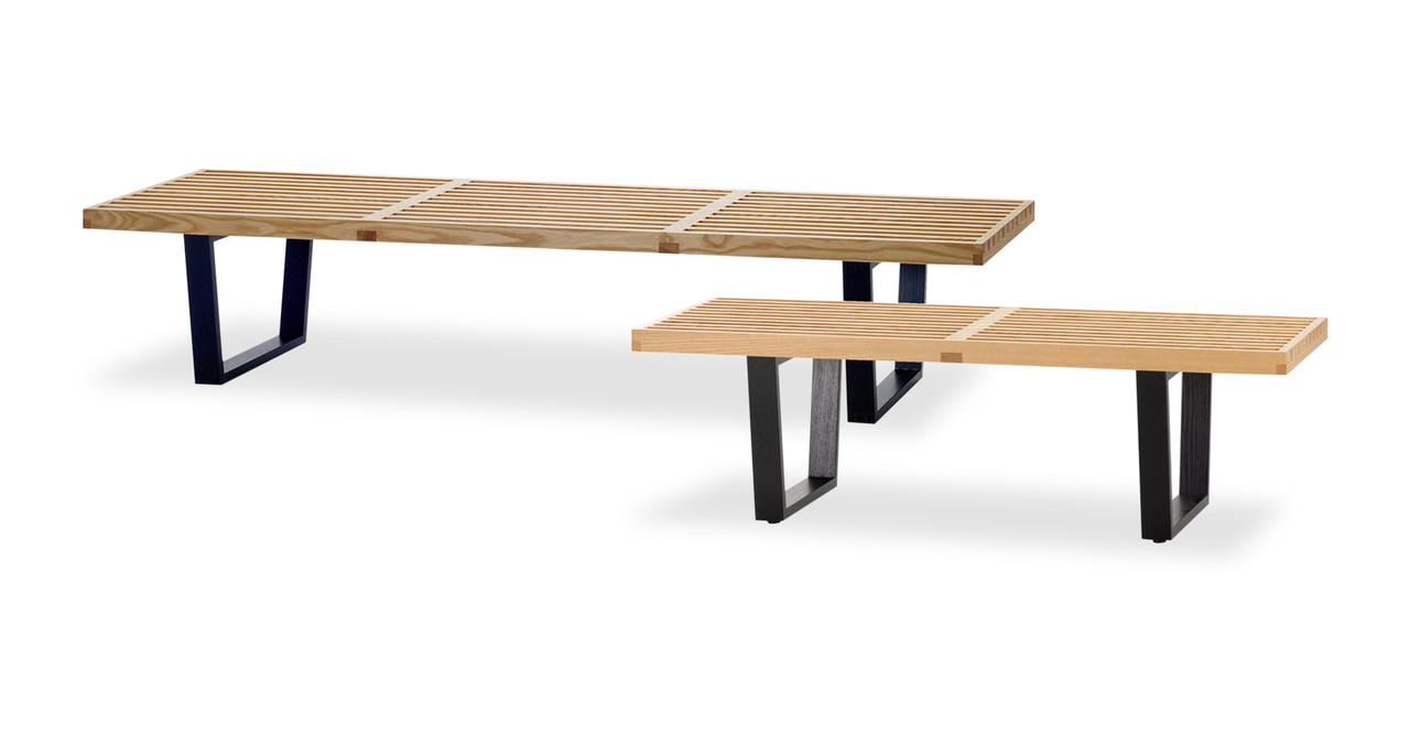 nelson platform bench ' natural  kardiel - nelson bench