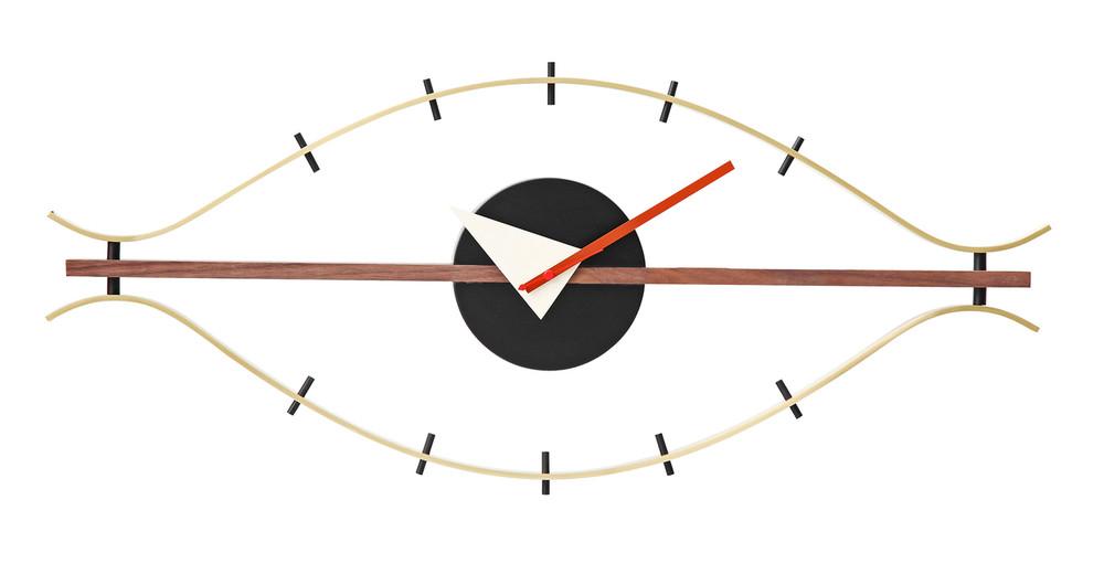 george nelson eye clock kardiel. Black Bedroom Furniture Sets. Home Design Ideas