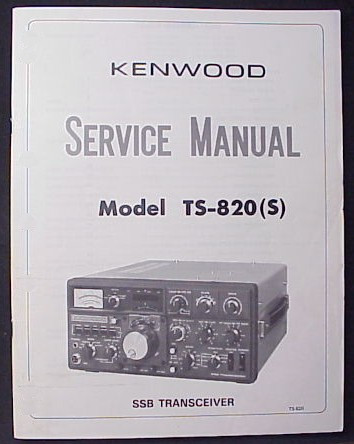 Kenwood Ts 820s manual
