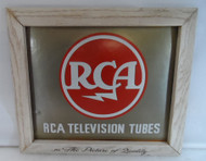 RCA Original  Advertisement Plaque for Television Tubes in Original Box